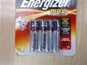 ENERGIZER Battery/Charger AAA8 MAX
